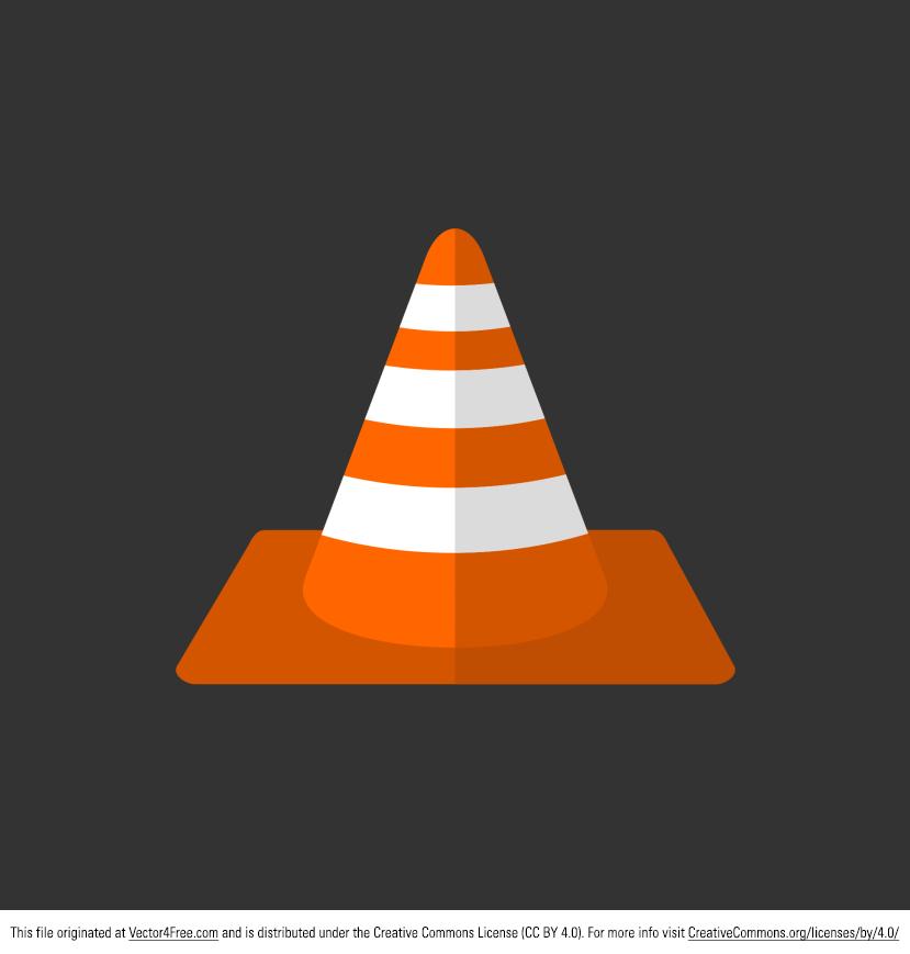 829x869 Free Vector Orange Traffic Cone