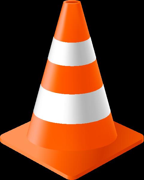 481x600 Orange Traffic Cone Vector Data For Free Svg(Vector)public