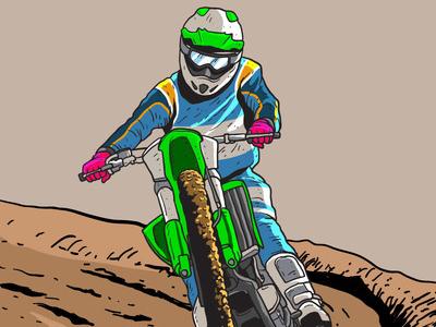 400x300 Dirt Bikes Trail Vector By Vecteezy