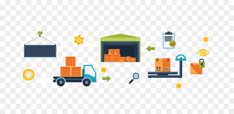 900x440 Logistics Warehouse Cargo Train Icon