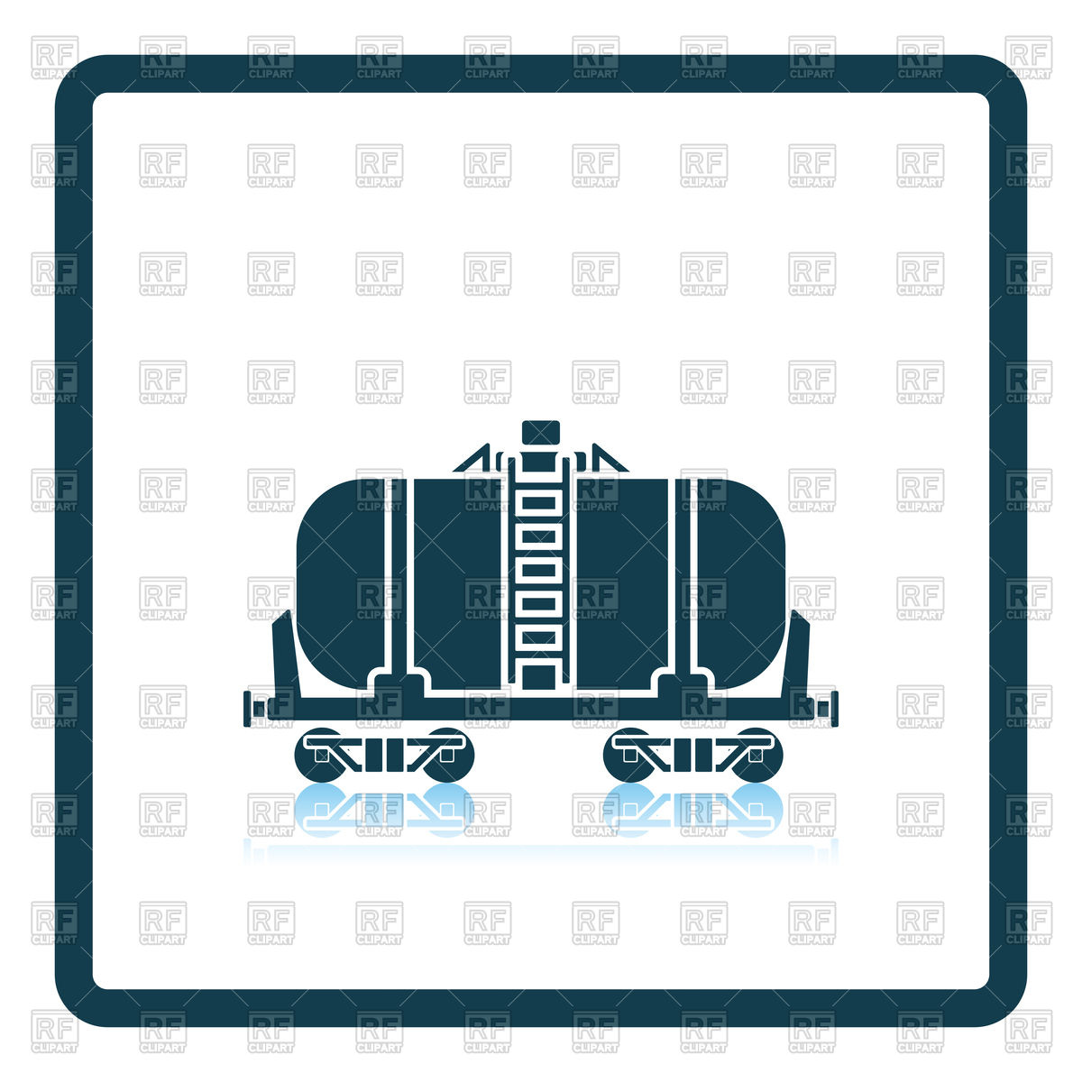 1200x1200 Railway Tank With Oil Icon Vector Image Vector Artwork Of