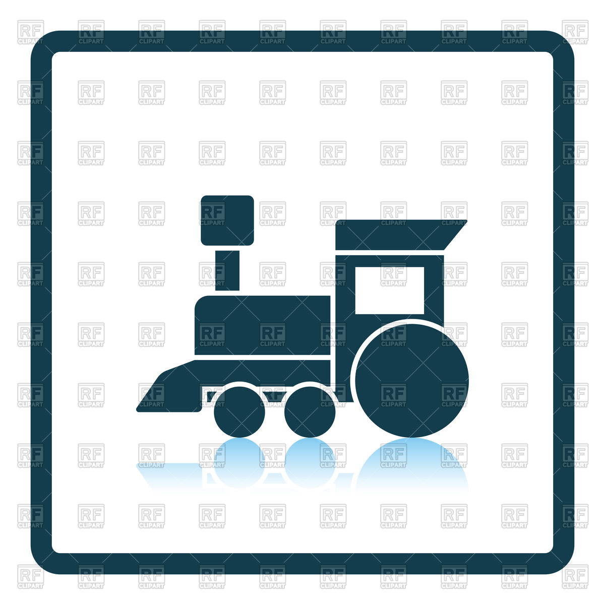 1200x1200 Toy Train Icon Vector Image Vector Artwork Of Objects Angelp