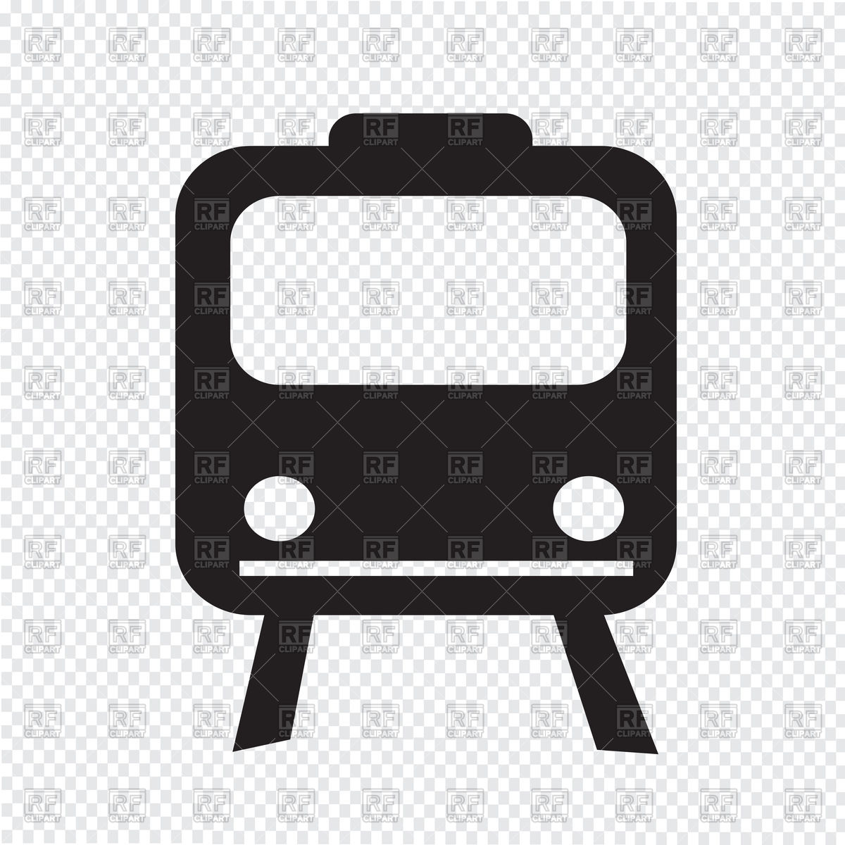 1200x1200 Train Icon Vector Image Vector Artwork Of Transportation