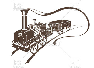 Train Vector Art