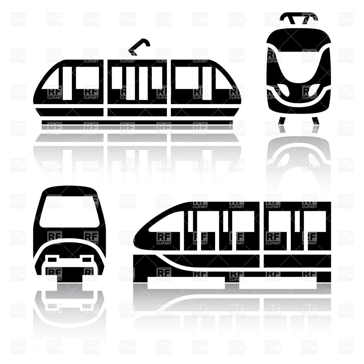 1200x1200 Railway City Transport Icons