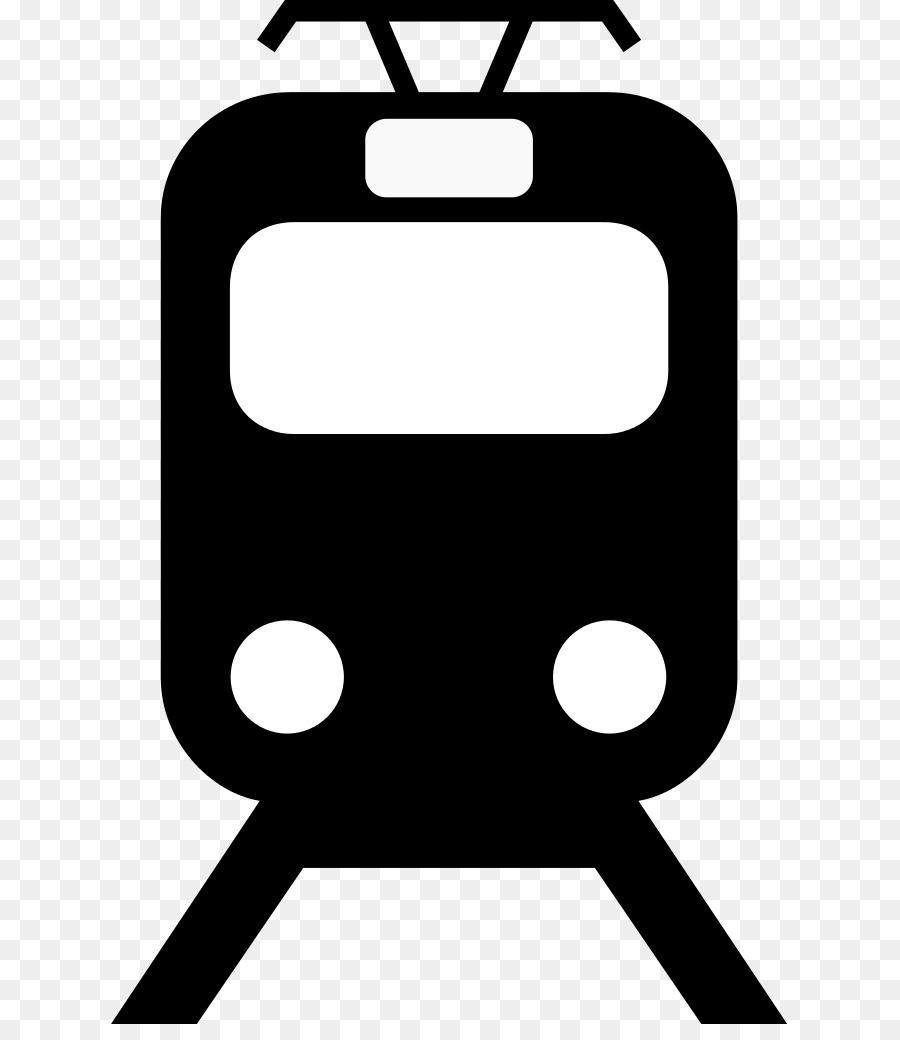 900x1040 Rapid Transit Rail Transport Train Clip Art