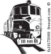 167x179 Free Train Vector Art Prints And Wall Artwork Freeart