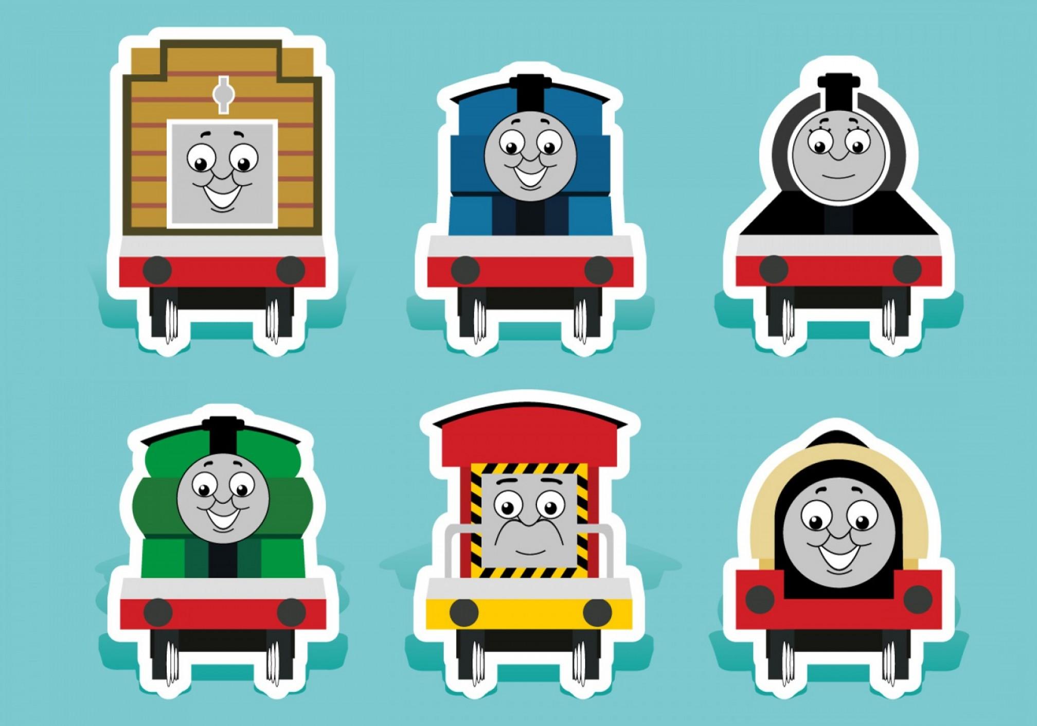 2016x1411 Free Vector Thomas The Train Vectors Shopatcloth