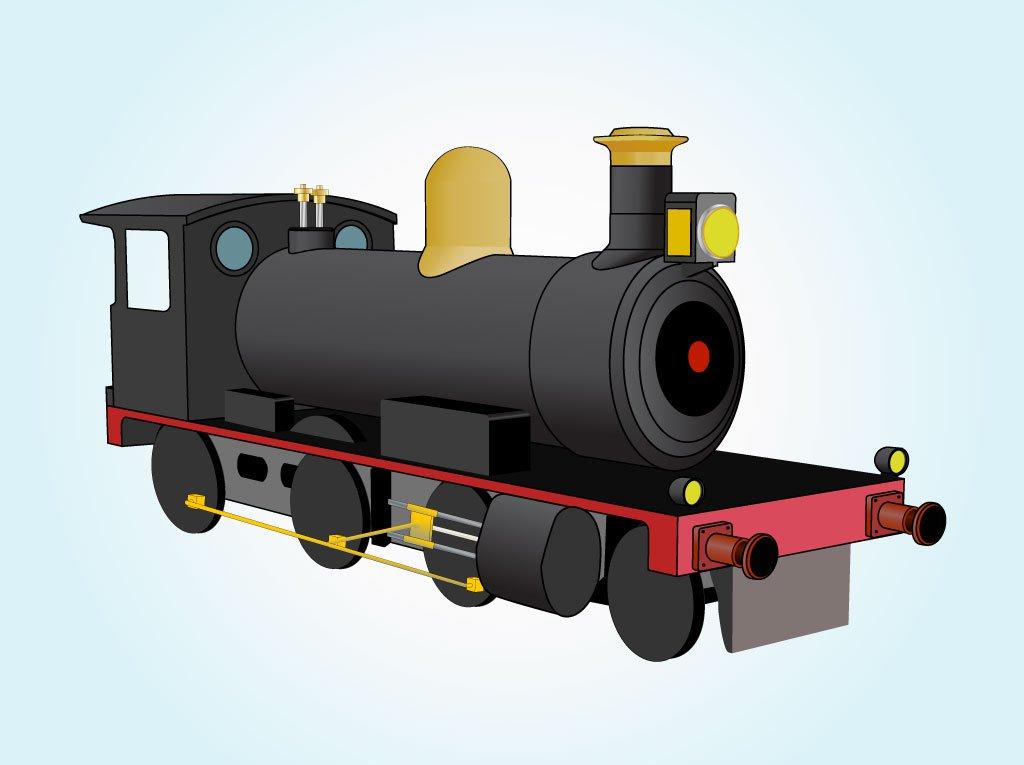 1024x765 Locomotive Graphic Vector Art Amp Graphics