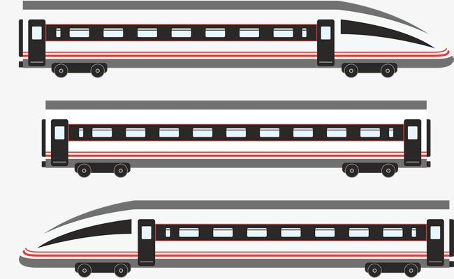 650x400 Modern City Metro Train Vector, City Vector, Train Vector, Traffic