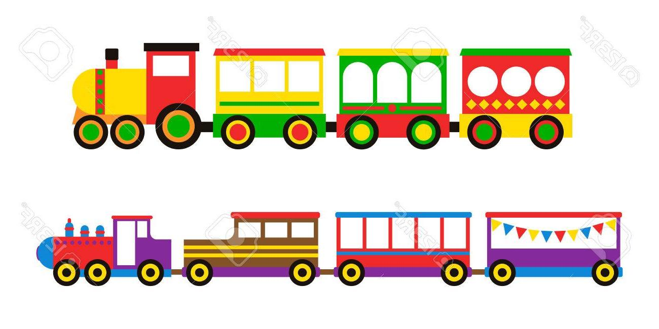 1300x650 Best Free Toy Train Vector Illustration Pictures