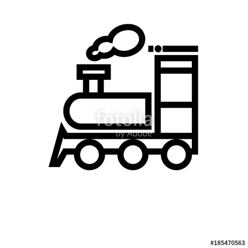 500x500 Train Vector Icon Stock Image And Royalty Free Vector Files On