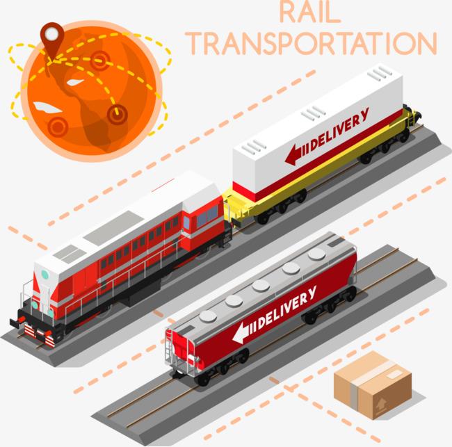 650x643 Development Of Logistics Train Vector, Logistics, Train, Vector