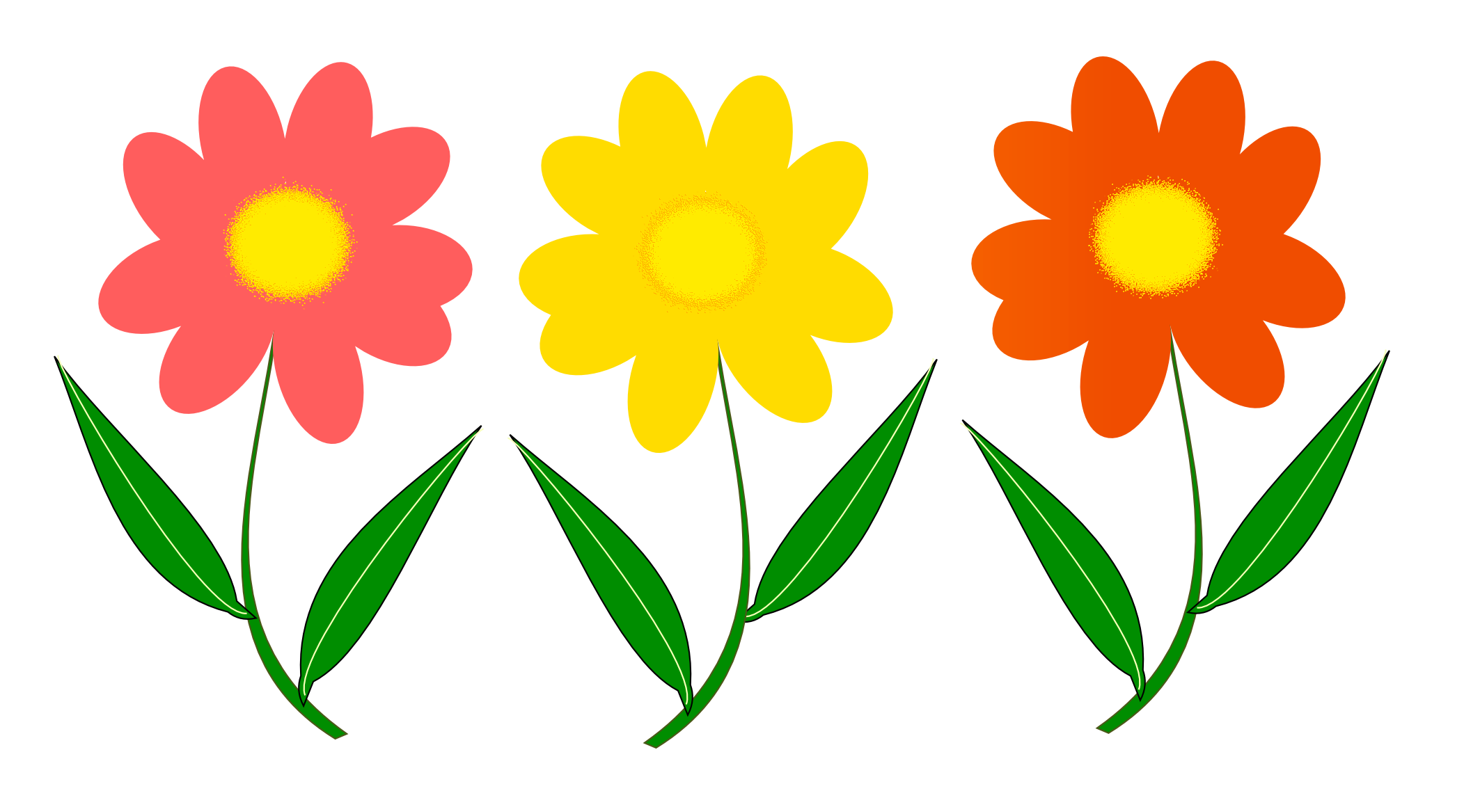 2103x1160 Flower Vector Png Image
