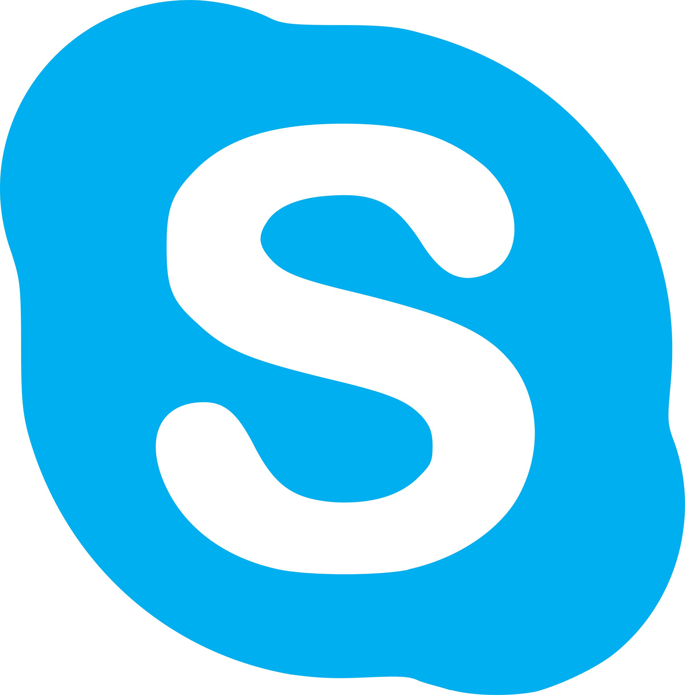 2400x2435 Skype Logo Svg Vector Amp Png Transparent