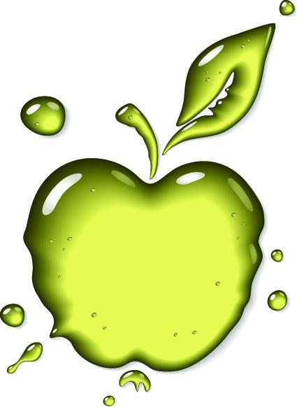 425x582 Transparent Fruit Glass Design Vector 04 Free Download