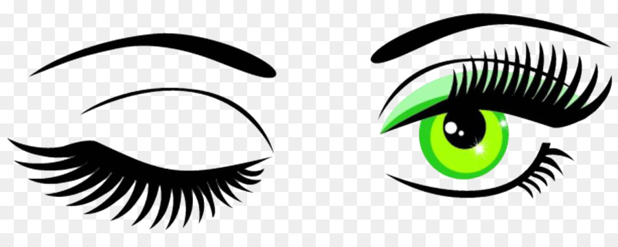 900x360 Wink Eye Scalable Vector Graphics Clip Art
