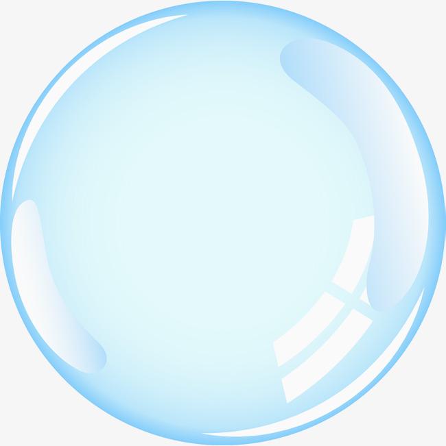 650x651 A Single Vector Transparent Bubble, Oxygen Bubble, Bubble, Bubble