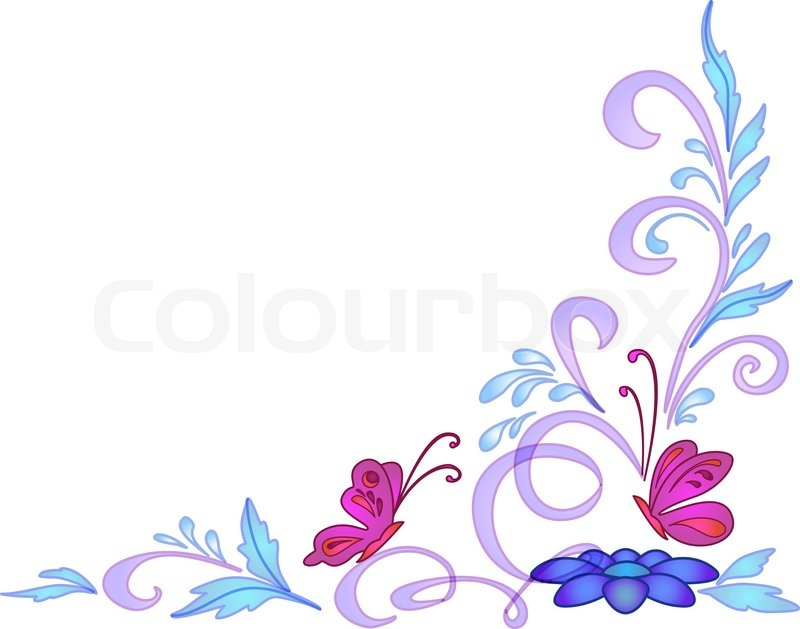800x629 Background Abstract Vector Floral Transparent Pattern, Eps10