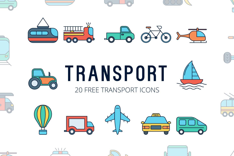 1440x960 Transport Vector Free Icon Set