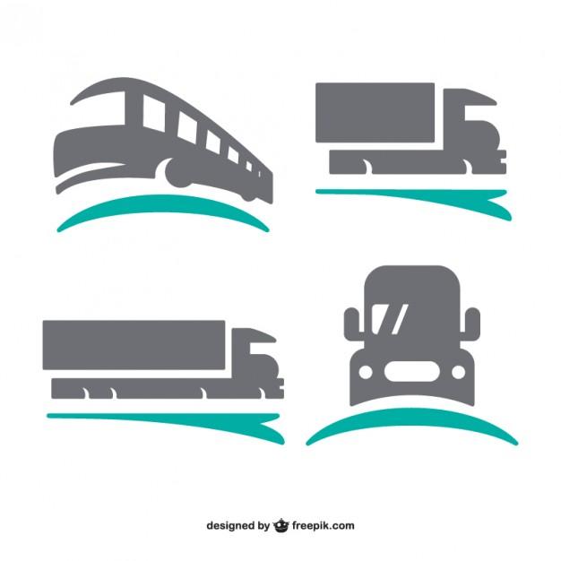 626x626 Transport Logos Set Vector Free Download