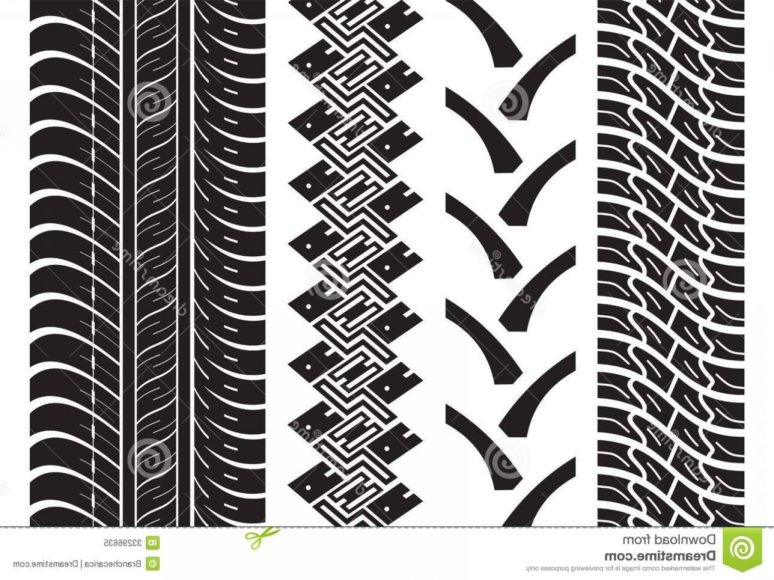 1560x1170 Royalty Free Stock Photo Various Tyre Treads Vector Illustration