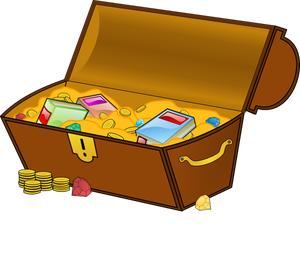 300x266 185 Free Treasure Chest Vector Public Domain Vectors