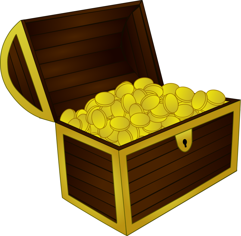 800x782 Treasure Chest Free Vector 4vector