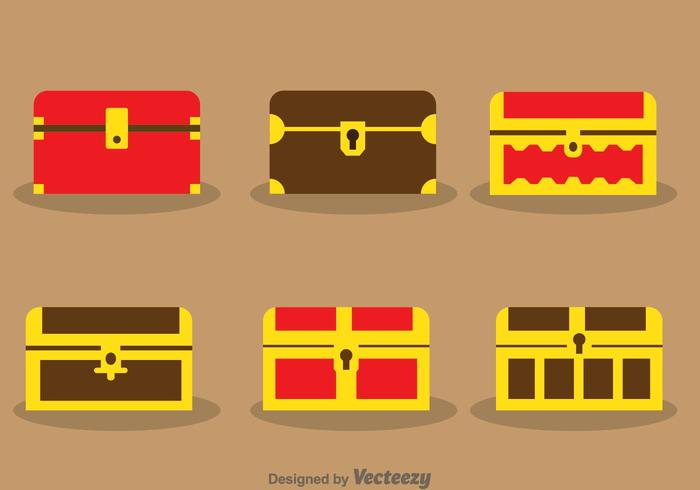 700x490 Treasure Chest Vectors