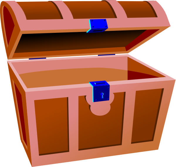 600x570 Treasure Chest Clip Art Free Vector 4vector