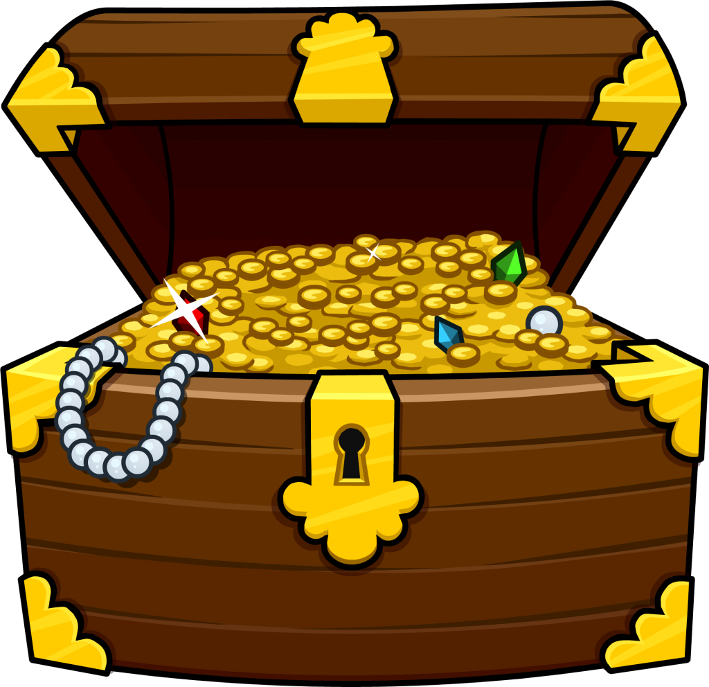 Treasure Chest Vector Free