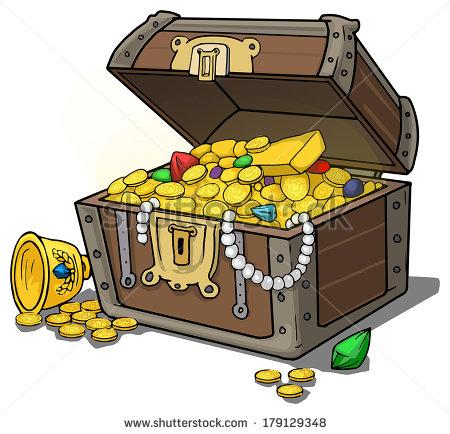 450x434 Cartoon Treasure Box Vector Cartoon Treasure Free Vector Download