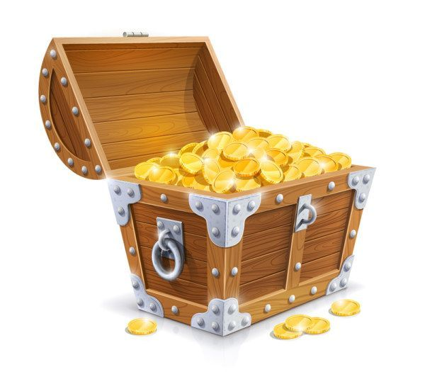 600x525 Pirate Treasure Chest Clipart Clipart Kid