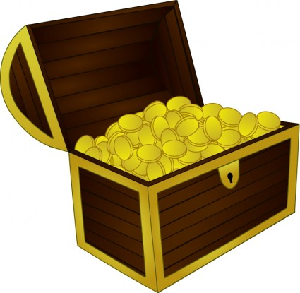 425x415 Treasure Chest Free Vectors Ui Download