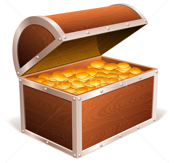 600x562 Treasure Chest. Vector Illustration Timur Syrtsov (Timurock