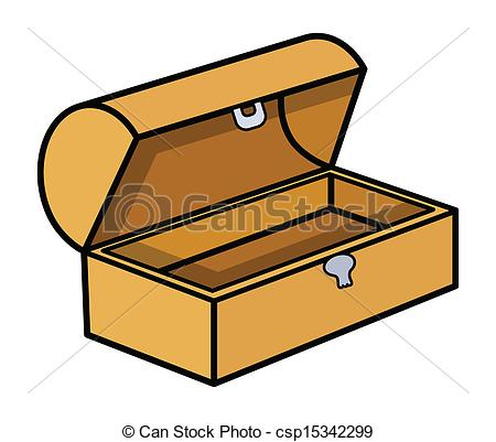 450x401 Empty Treasure Box