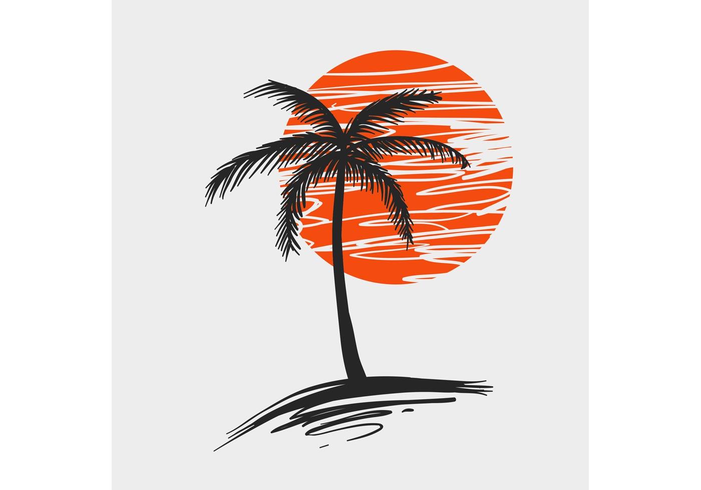 1400x980 6,000 Free Palm Tree Vector Art Files Amp Illustrations