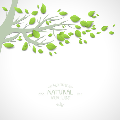 500x500 Eco Natural Style Tree Backgrounds Vector Free Vector In Adobe