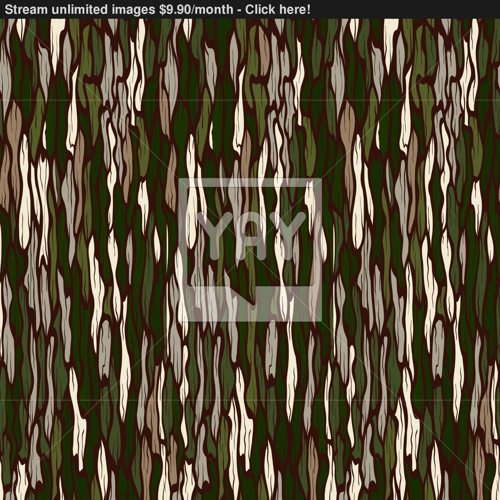 1600x1600 Tree Bark Texture. Seamless Vector Background. Vector