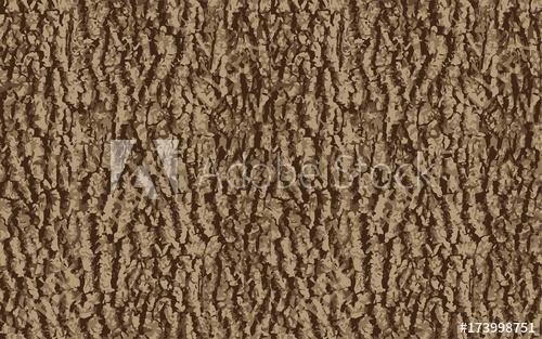 500x313 Vector Seamless Pattern Of Ash Tree Bark Seasonal Texture Forest