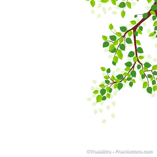 600x600 Download Free Tree Branches Vector Illustration