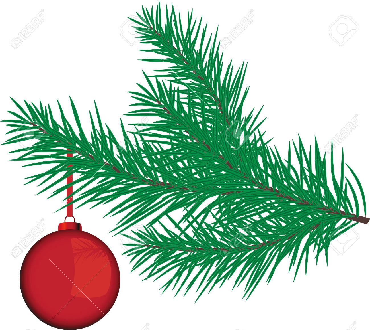 1300x1157 Christmas Tree Branch Clipart Free