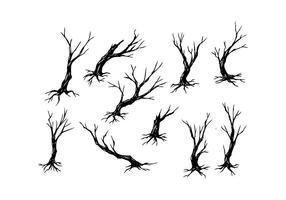 286x200 Tree Branch Silhouette Free Vector Art