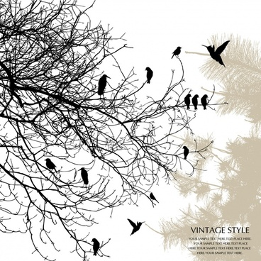 368x368 Tree Branch Eps Free Vector Download (182,952 Free Vector) For