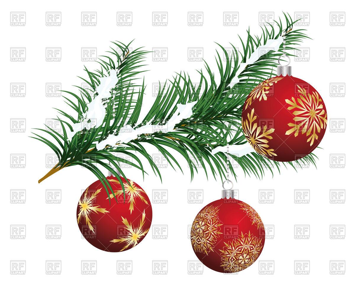 1200x960 Beautiful Christmas Tree Branch Vector Image Vector Artwork Of