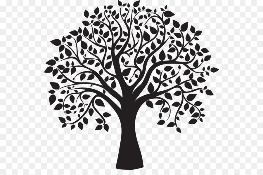 900x600 Tree Drawing Clip Art