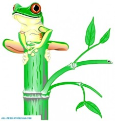 225x237 Tree Frog 00125 Free Vector 4vector