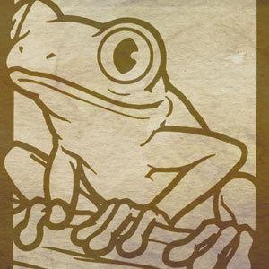 300x300 Tree Frog Vector
