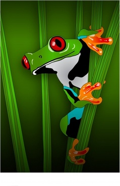 238x368 Tree Frog Free Vector Download (5,401 Free Vector) For Commercial