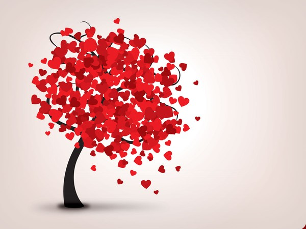 600x450 Lovely Tree Vector Graphic